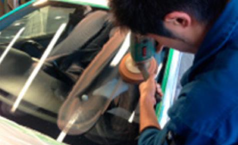 ガラス研磨